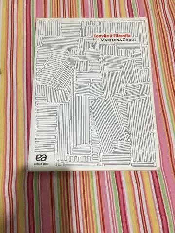 Convite à Filosofia Marilena Chaui Conservadissímo Livros E