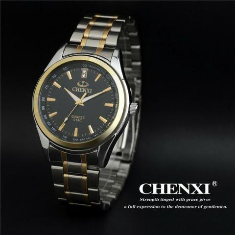cda07be6a9d Relógio de luxo chenxi aço inox (aceito cartão )