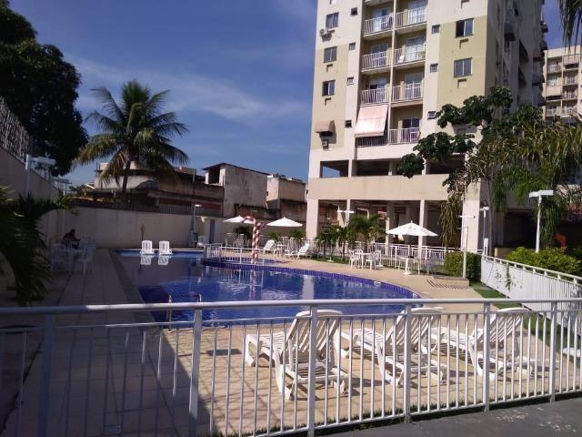 AP0229 - Apartamento 2 quartos 1 suíte - Cascadura - Condomínio Bossa Norte