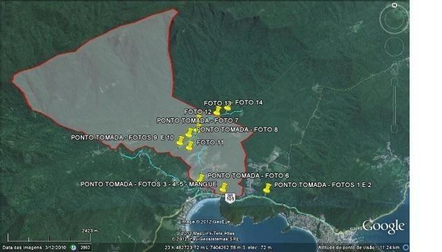 Ubatuba SP - Mata Atlântica   Área Comp. Ambiental, Parque, APP, Santuário, 715 alqueires