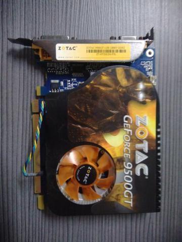 Placa de vídeo Zotac GeForce 9500Gt