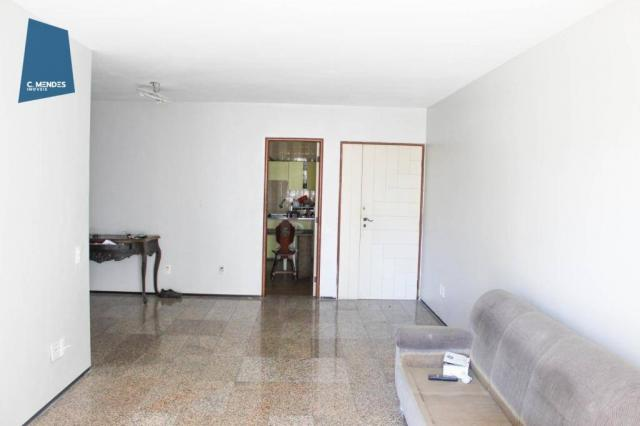 Apartamento com 3 dormitórios para alugar, 100 m² por R$ 1.600/mês - Papicu - Fortaleza/CE - Foto 10
