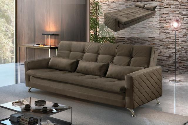 Sofá cama Viena ref11 Luxury #evksofacamaviena