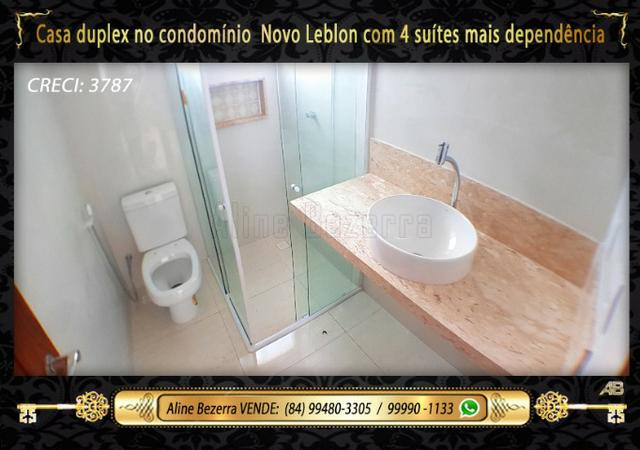 Duplex com 5 suítes no condomínio Novo Leblon, confira - Foto 10