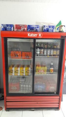 Vendo freezer vertical 2 portas vidro