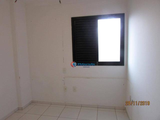 Apartamento com 3 dormitórios para alugar, 60 m² por r$ 1.100,00 - jardim são carlos - sum - Foto 18