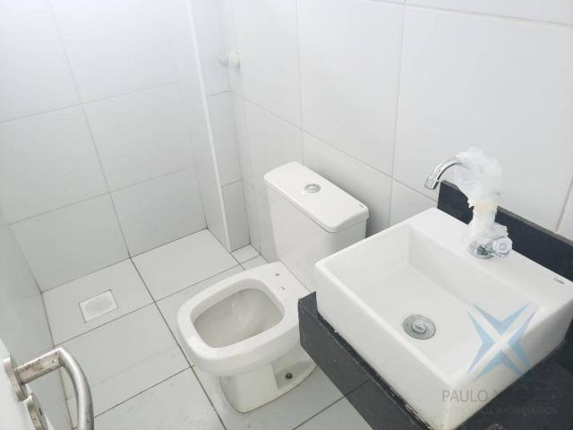 Apartamento novo com 3 dormitórios para alugar, 81 m² por r$ 1.700/mês - engenheiro lucian - Foto 12