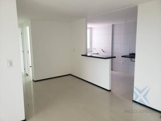 Apartamento novo com 3 dormitórios para alugar, 81 m² por r$ 1.700/mês - engenheiro lucian - Foto 7