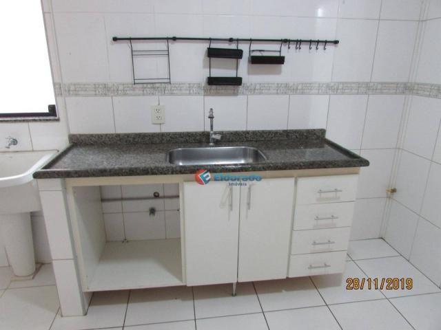 Apartamento com 3 dormitórios para alugar, 60 m² por r$ 1.100,00 - jardim são carlos - sum - Foto 6