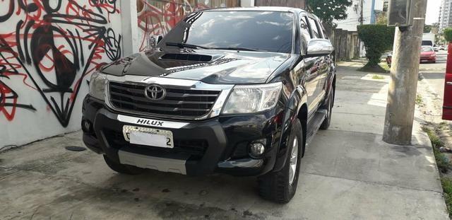 Toyota hilux srv 3.0 11/12 top de linha único dono - Foto 2