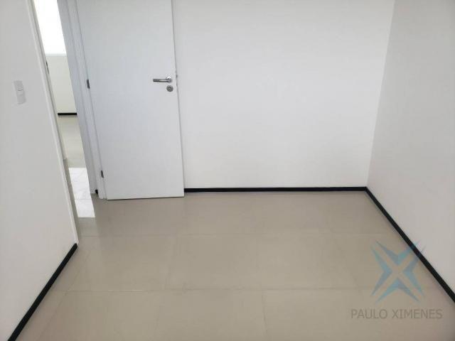 Apartamento novo com 3 dormitórios para alugar, 81 m² por r$ 1.700/mês - engenheiro lucian - Foto 11