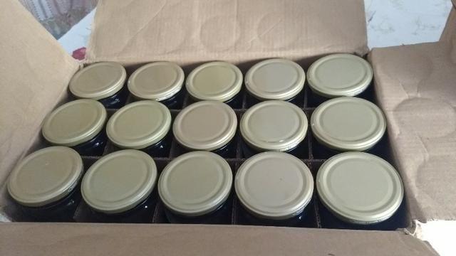 Potes de vidro de 500 ml - Compotas, bolos, geleias, saladas, etc - Foto 2