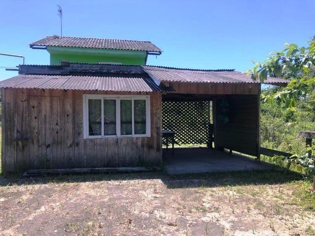 Ótimo Terreno com Casa de madeira, 409,6m², Baln Jdm Verdes Mares, Itapoá/SC - Foto 5