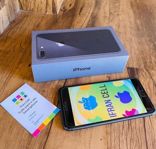 IPhone 8 Plus 64GB Cinza Espacial. GARANTIA ATÉ JULHO 2020. ACEITO CARTÃO - Foto 2