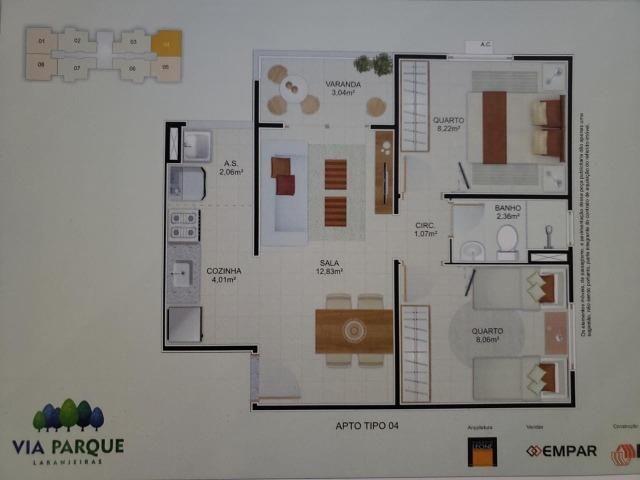 Vendo Apartamento Térreo no Via Parque - Morada de Laranjeiras / Serra - ES - Foto 2