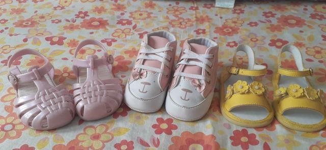 (Feminino)10 peça de roupa + um sapatinho é 2 sandálias tudo isso por apenas 150,00 - Foto 2