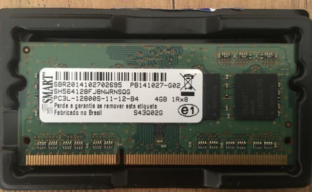 Memória RAM / 4GB