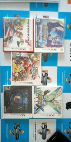 Nintendo 3ds com 5 jogos - Foto 3