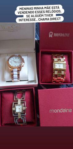 Relógios femininos mondaine L&Co - Foto 3
