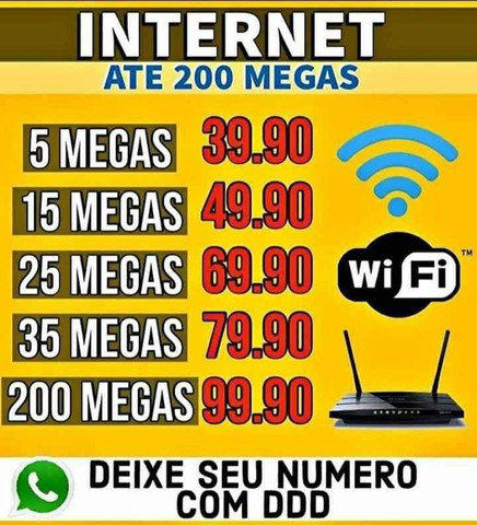 Wifi fibra