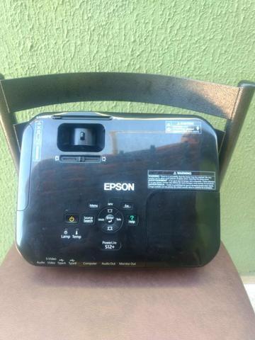 Vendo projetor Epson S12+ 2800 lumens