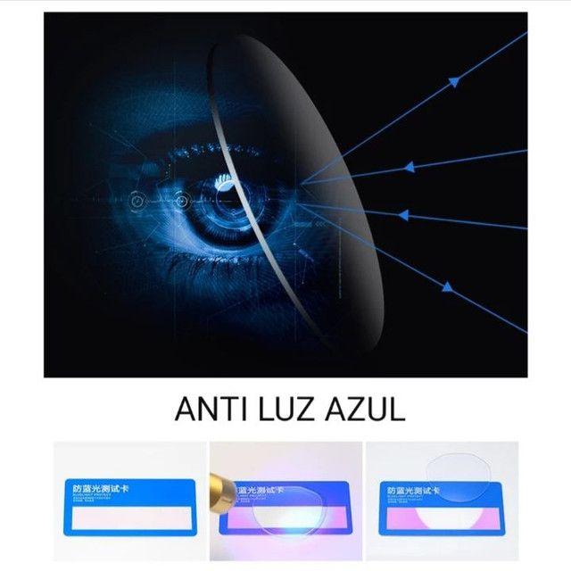ÓCULOS FOTO PROTEÇÃO LUZ AZUL IDEAL PARA GAMES - Foto 3