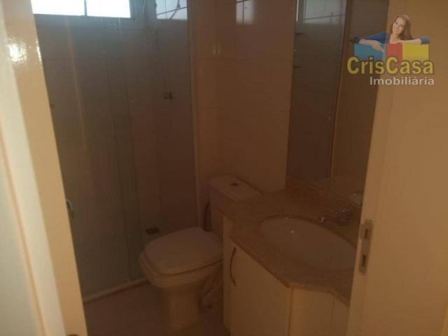 Apartamento com 3 dormitórios para alugar, 100 m² por R$ 1.500,00/mês - Costazul - Rio das - Foto 17