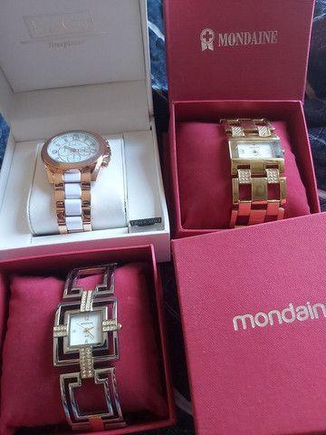 Relógios femininos mondaine L&Co - Foto 2