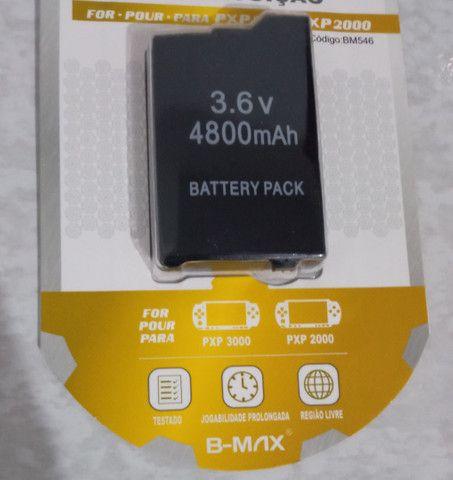 Bateria de PSP nova lacrada - Foto 3