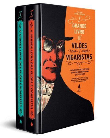 Box - O grande livro dos vilões e vigaristas (novo na caixa)