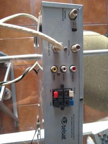 Aparelho para antena parabólica telsat - Foto 4