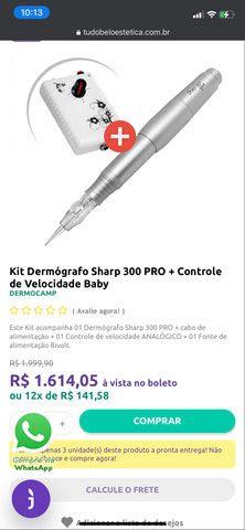 Caneta de micropigmentação dermo camp baby easy click - Foto 2