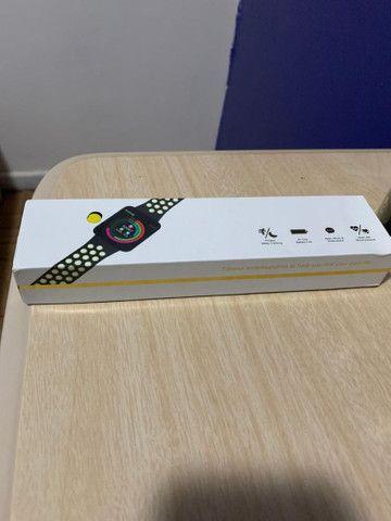 Smartwatch top em português - Foto 4