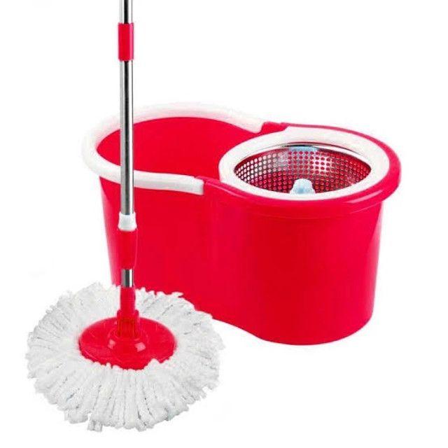 Balde para limpeza - MOP - Cesto em inox