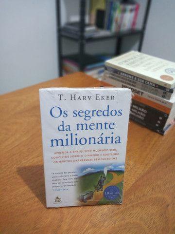 Livro - Os Segredos da mente milionária - Novo e pronta entrega
