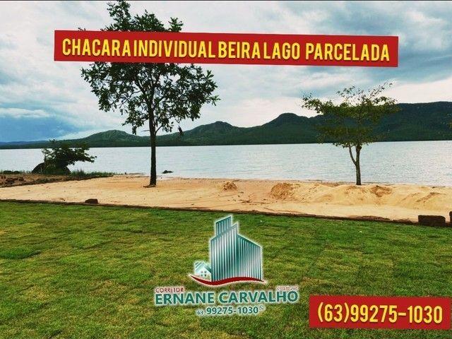 Lançamento chácaras beira lago individual parceladas no boleto