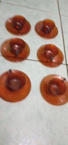 Jogo xícaras acrílico  - Foto 2