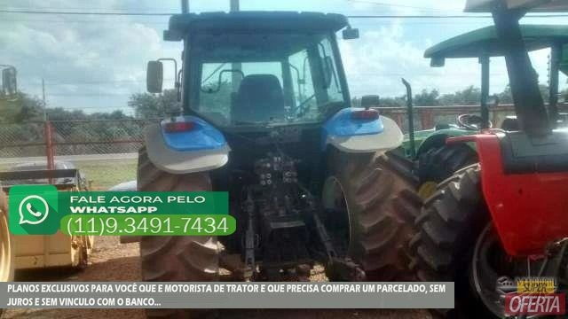 Trator Ford/New Holland TM 180 4x4 ano 06 - Foto 3