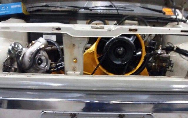 Vendo Gol BX 1985 Dupla carburação turbo - Foto 10