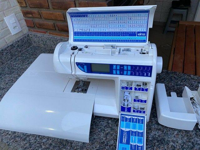 Máquina de costura Doméstica com pontos decorativos   - Foto 5