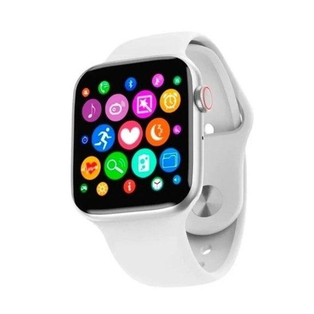 Smartwatch Iwo W26 Android Ios Tela Infinita 40mm Branco - Foto 2