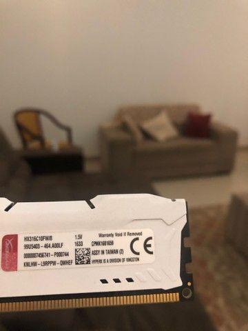 Memória ram HyperX Fury 8gb DDR3  - Foto 4