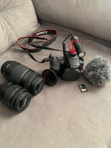 Vendo câmera Canon EOS 3 / SLr3  - Foto 2