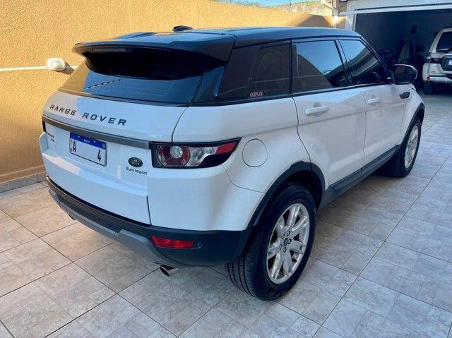 Range Rover Evoque Pure 2013 Interna Caramelo