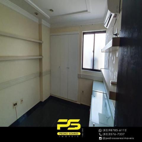 (ALUGO) Apartamento com 2 dormitórios para alugar, 67 m² por R$ 2.100/mês - Cabo Branco -  - Foto 5