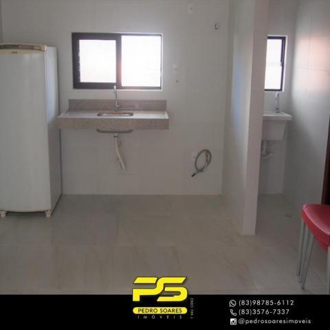 (ALUGO) Apartamento com 2 dormitórios para alugar, 67 m² por R$ 2.100/mês - Cabo Branco -  - Foto 10