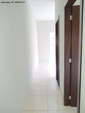 Casa para Venda em Várzea Grande, Jardim Eldorado, 2 dormitórios, 1 banheiro, 2 vagas - Foto 9