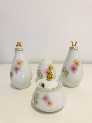 Galheteiro porcelana vintage