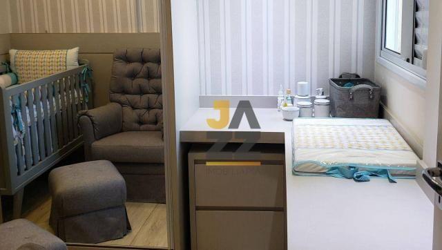 Lindo apartamento com 2 dormitórios e closet à venda, 73 m² por R$ 450.000 - Vila Brasil - - Foto 14