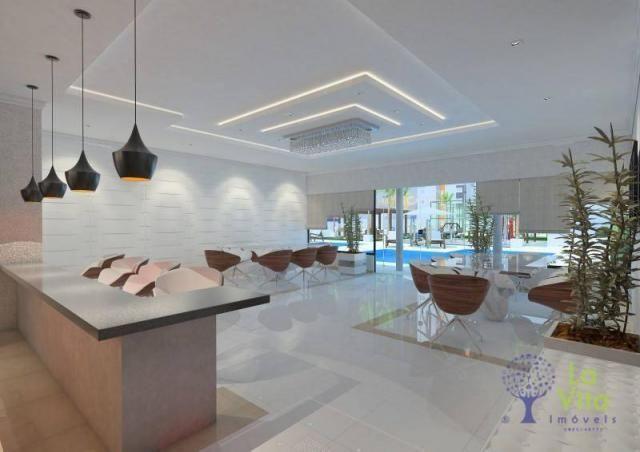 Apartamento com 2 dormitórios à venda, 52 m² por R$ 248.328,00 - Itacolomi - Balneário Piç - Foto 3